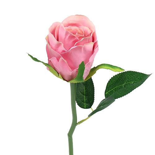 deko rose 6cm rosa l30cm 6st kaufen in schweiz. Black Bedroom Furniture Sets. Home Design Ideas