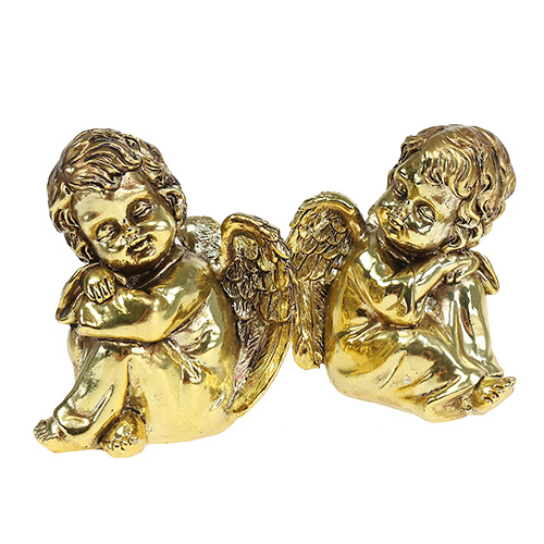 deko engel sitzend gold gl nzend 9cm 4st kaufen in schweiz. Black Bedroom Furniture Sets. Home Design Ideas