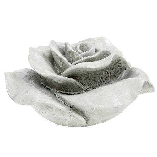 deko rose grau 13cm kaufen in schweiz. Black Bedroom Furniture Sets. Home Design Ideas