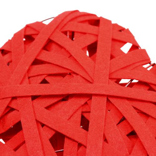 filzherzen zum h ngen rot 26cm 2st kaufen in schweiz. Black Bedroom Furniture Sets. Home Design Ideas