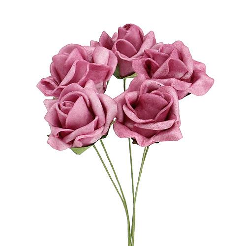 foamrose mini rosen 4cm erika 48st kaufen in schweiz. Black Bedroom Furniture Sets. Home Design Ideas