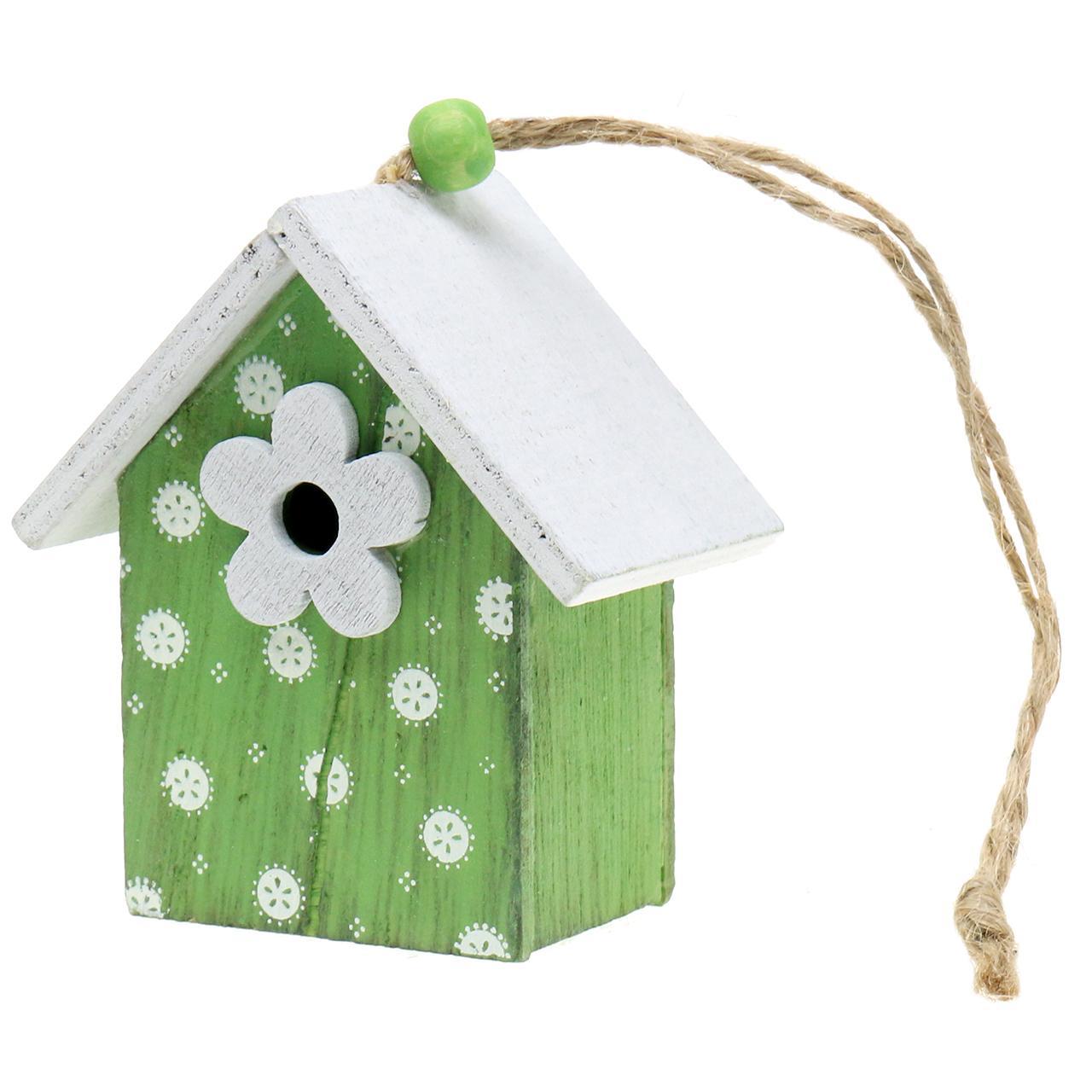 deko vogelhaus zum h ngen 8cm 6st kaufen in schweiz. Black Bedroom Furniture Sets. Home Design Ideas