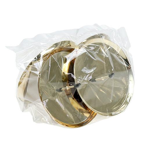 kerzenhalter gold 10cm 4st kaufen in schweiz. Black Bedroom Furniture Sets. Home Design Ideas