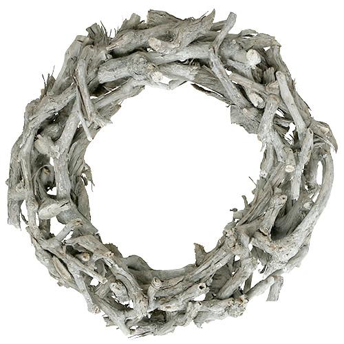 Kranz Basteln Aus ästen : kranz aus sten gro 46cm natur kaufen in schweiz ~ Yasmunasinghe.com Haus und Dekorationen