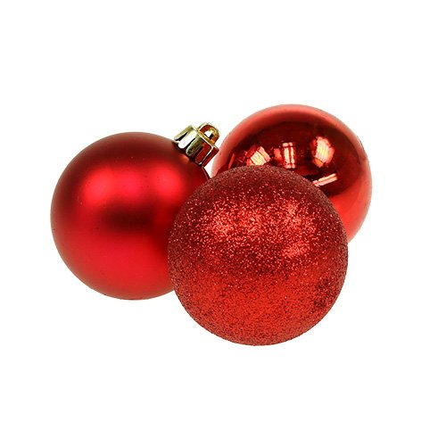 mini weihnachtskugel plastik 3cm rot 15st kaufen in schweiz. Black Bedroom Furniture Sets. Home Design Ideas