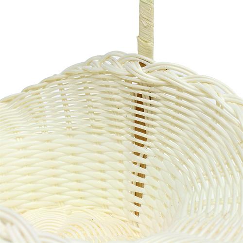streuk rbchen f r hochzeit plastik wei 15cm h32cm kaufen in schweiz. Black Bedroom Furniture Sets. Home Design Ideas