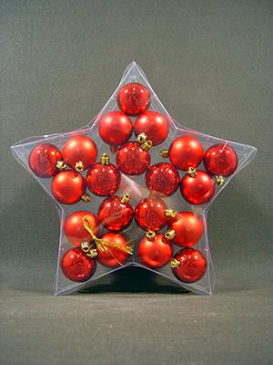 weihnachtskugel plastik 5cm rot 20st kaufen in schweiz. Black Bedroom Furniture Sets. Home Design Ideas