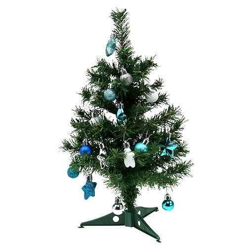 weihnachtsdeko mini baum blau sort 40cm kaufen in schweiz. Black Bedroom Furniture Sets. Home Design Ideas
