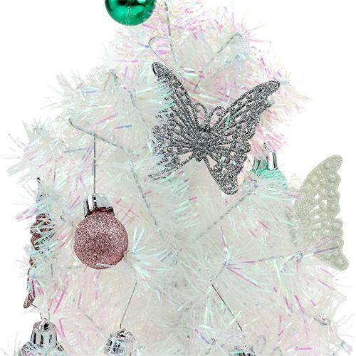 Weihnachtsdeko mini baum bunt 43cm kaufen in schweiz for Weihnachtsdeko baum