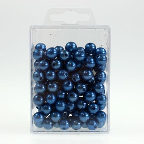 deko perlen 10mm blau 115st kaufen in schweiz. Black Bedroom Furniture Sets. Home Design Ideas