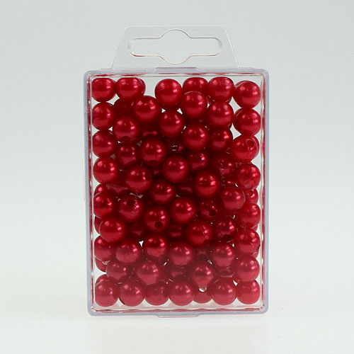 deko perlen 10mm rot 115st kaufen in schweiz. Black Bedroom Furniture Sets. Home Design Ideas