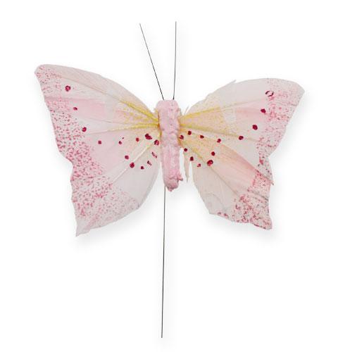 Deko Schmetterling Am Draht Pastell 8cm 12st Kaufen In Schweiz