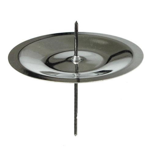 kerzenhalter mit dorn silber 6 cm 36st kaufen in schweiz. Black Bedroom Furniture Sets. Home Design Ideas