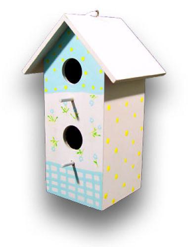 vogelhaus zum h ngen 28cm hellblau kaufen in schweiz. Black Bedroom Furniture Sets. Home Design Ideas