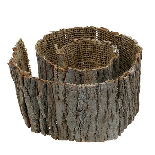 Baumrinde Rolle Natur 10cm 1m