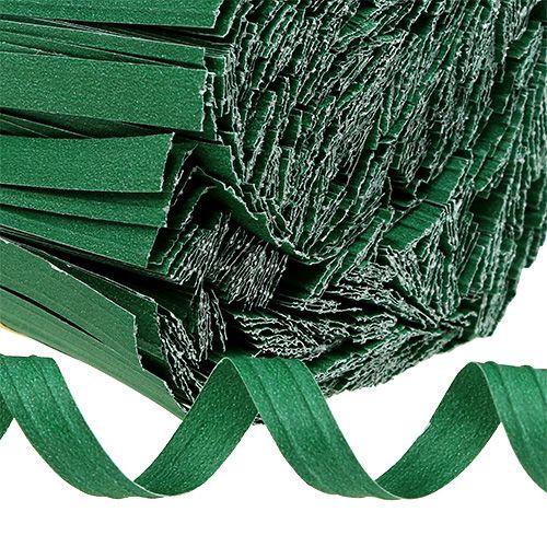 Bindestreifen kurz Grün 20cm 2er-Draht 1000St