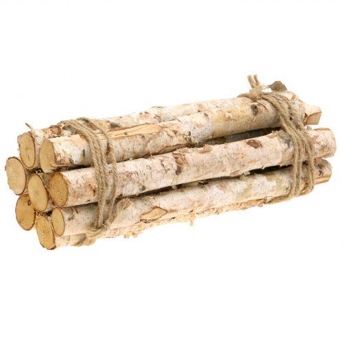 Birkenäste gebündelt Natur 30cm 8St