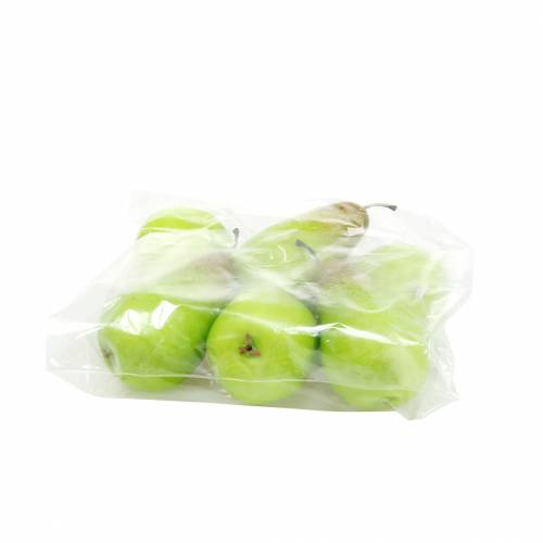Lebensmittelattrappe Birne 10,5cm Grün 6St