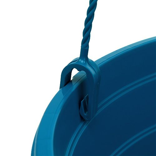 blumenampel 25cm blau kaufen in schweiz. Black Bedroom Furniture Sets. Home Design Ideas