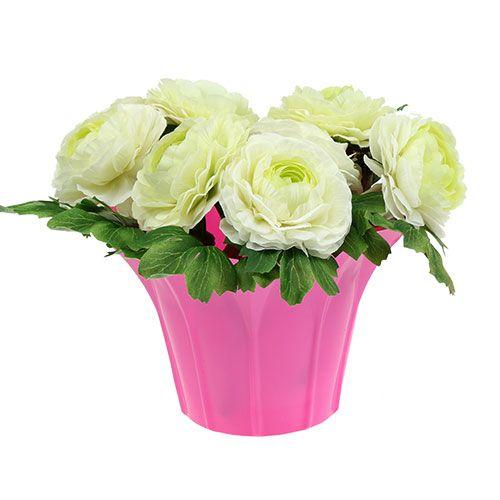 Blumentopf aus plastik 14cm h13cm lila sort 10st kaufen for Blumentopf plastik