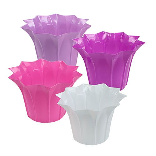 Blumentopf aus plastik 17cm h11 5cm 10st kaufen in schweiz for Blumentopf plastik