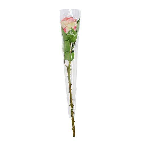 Blumentüte unbedruckt L41cm B3-12cm 50st