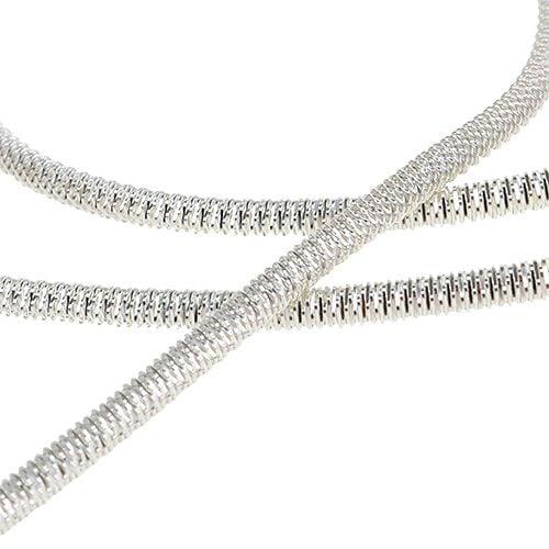 Bouillon-Draht Ø2mm 100g Silber