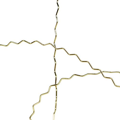 Bouilloneffektdraht 100g Gold