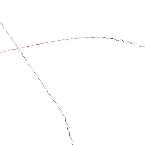 Bouilloneffektdraht Ø0,30mm 100g/140m Lavendel