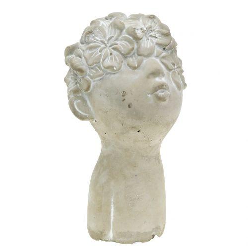Gartenfigur Blumenkind H20cm
