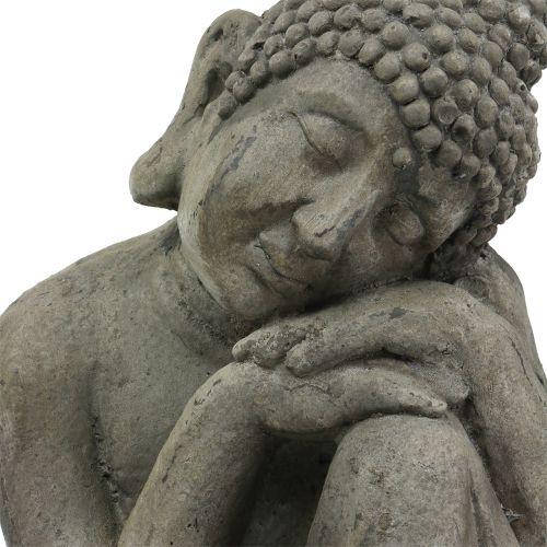 Buddha Skulptur H40cm