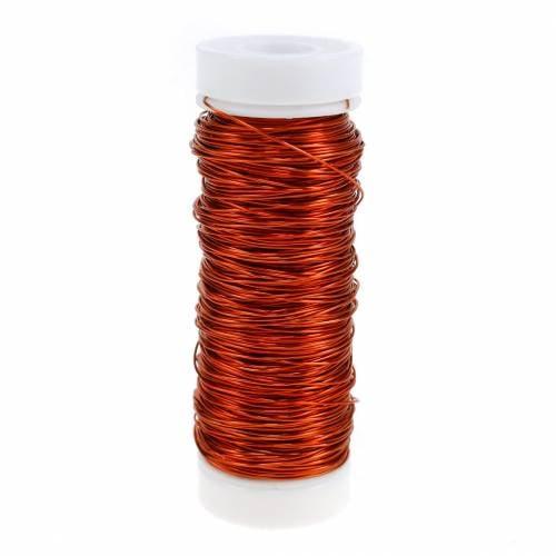 Deko Lackdraht Orange Ø0,30mm 30g/50m
