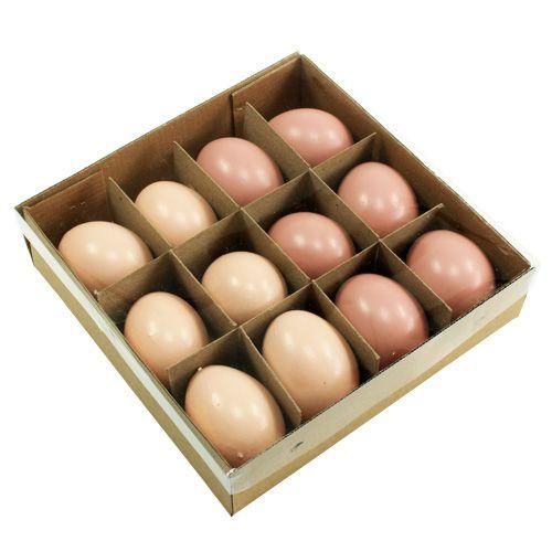 deko eier pastell rosa 6cm 12st kaufen in schweiz. Black Bedroom Furniture Sets. Home Design Ideas