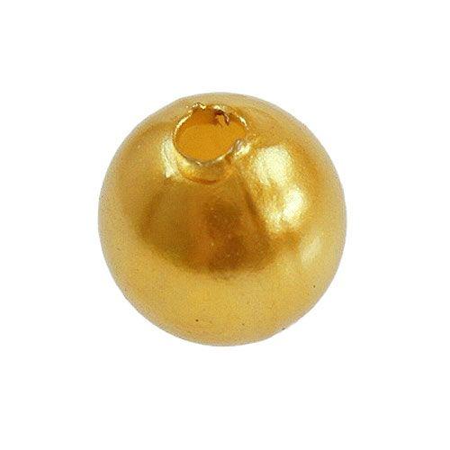 deko perlen gold 8mm 250st kaufen in schweiz. Black Bedroom Furniture Sets. Home Design Ideas