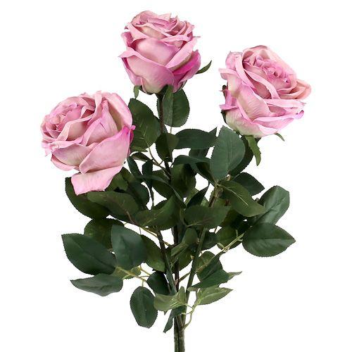 Deko rose gef llt altrosa 10cm l65cm 3st kaufen in schweiz for Altrosa deko