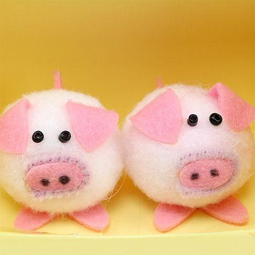 deko schweinchen rosa 5cm set kaufen in schweiz. Black Bedroom Furniture Sets. Home Design Ideas