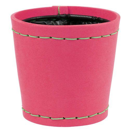 "Deko Topf ""Suki"" pink Ø12,5cm H12,5cm, 1St"