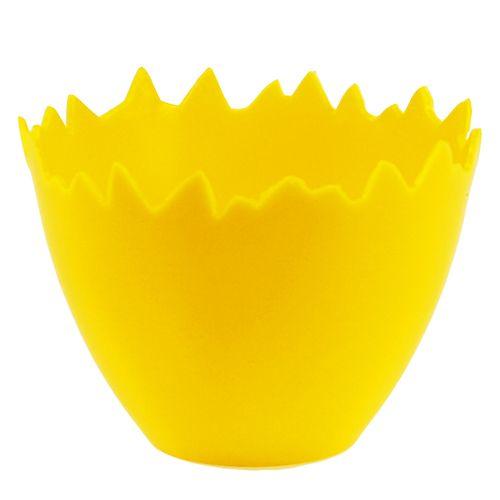 Eierbecher Ø17cm 20St Gelb