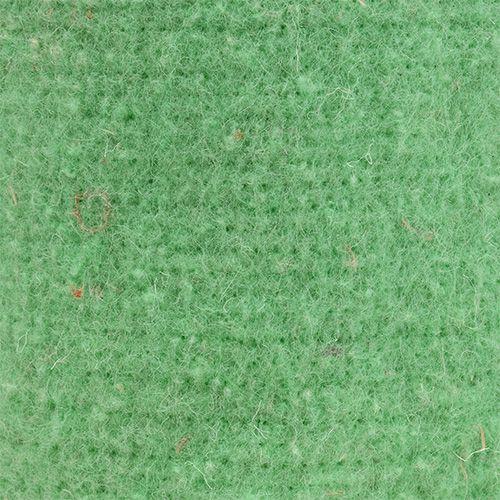 Filzband Topfband Hellgrün 15cm 5m