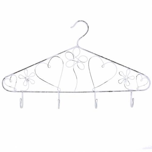 Deko-Kleiderbügel mit Haken Vintage 40cmx23cm