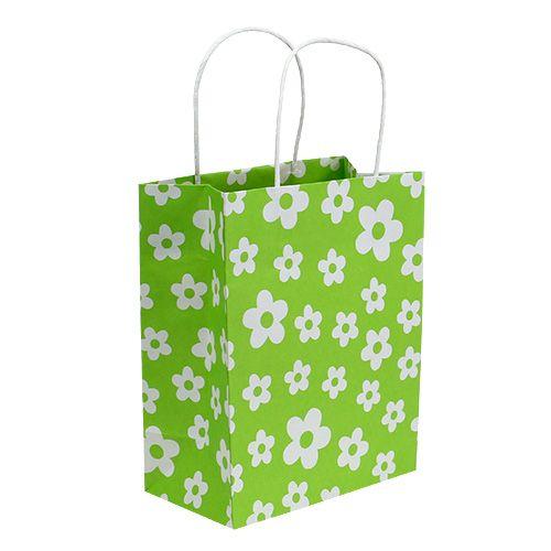 Geschenktüten Grün 20cm x 11cm x 25cm 8St