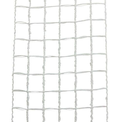 Gitterband 4,5cm x 10m Weiß