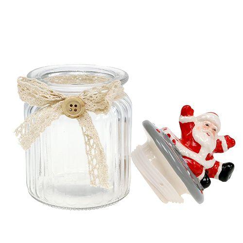 glasdose mit deckel santa 7 5cm h15cm kaufen in schweiz. Black Bedroom Furniture Sets. Home Design Ideas