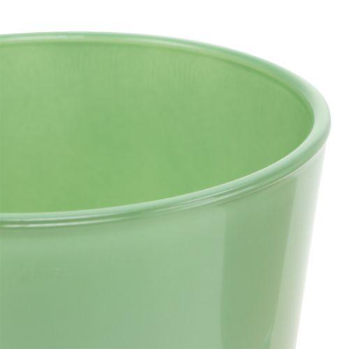 Glastopf Ø10cm H8,5cm Mintgrün