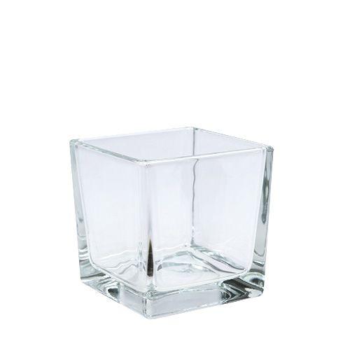 Glaswürfel klar 8cm x 8cm x 8cm 6St