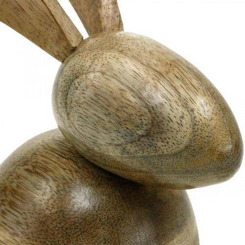 Holzhase sitzend, Deko Hase, Holzdeko, Ostern 18cm