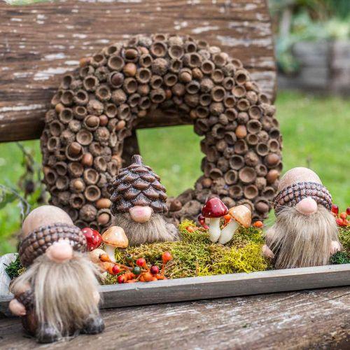 Herbstdeko Kranz aus Eicheln Naturkranz Ø30cm