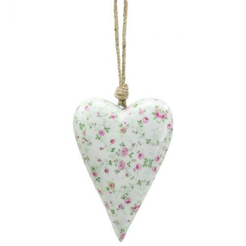 Herz zum Hängen Rosen 10cm x 15cm