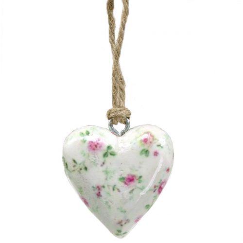 Herz zum Hängen Rosen 5cm 12St