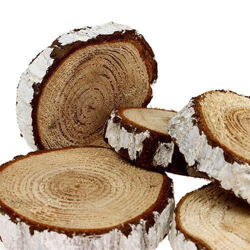 Holzscheiben tannen optik 3 7 5cm 500g kaufen in schweiz - Holzscheiben dekorieren ...